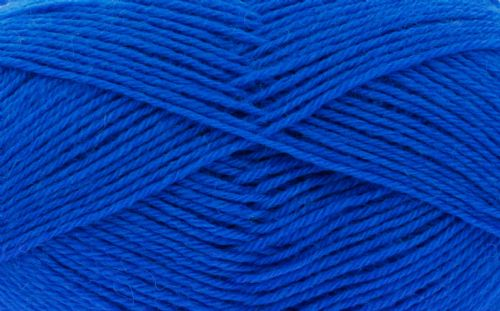 King Cole Pure Wool Yarn 500g Cone 4ply - Sapphire